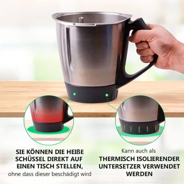Behälterunterteil für Küchenmaschine Thermomix TM31