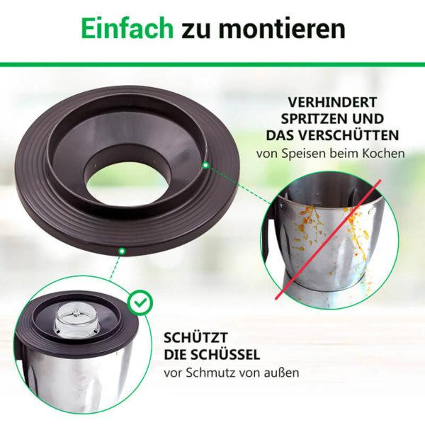 Deckel für Vorwerk Thermomix Küchenmaschine TM3300