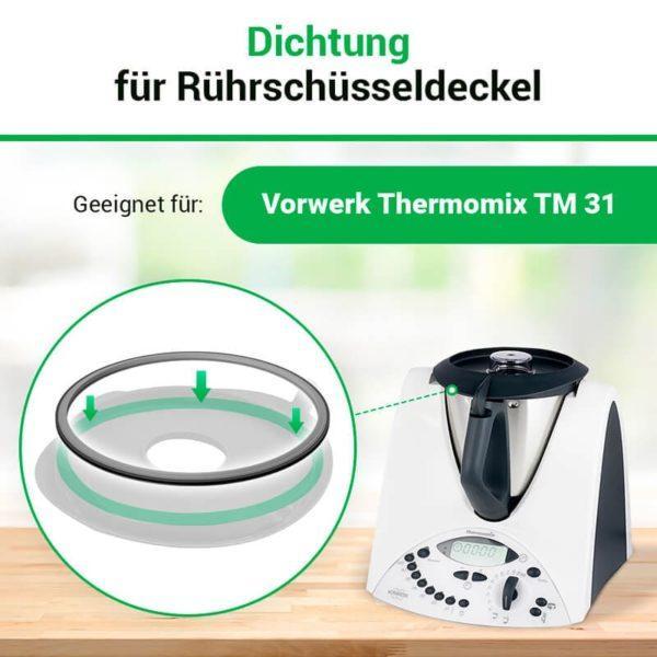 Dichtung für Deckel Thermomix TM31