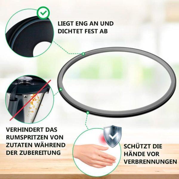 Dichtungsring für Thermomix TM31 Küchenmaschine
