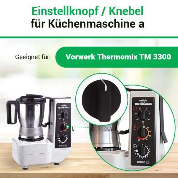 Drehknopf für Thermomix TM300