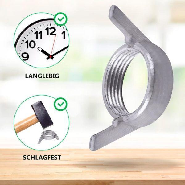Flügelmutter Ring für Küchenmaschine Thermomix TM3300