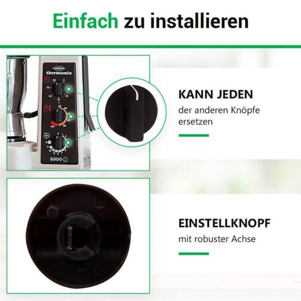 Knebel für Vorwerk Thermomix TM3300 Küchenmaschine