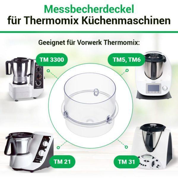 Messbecher für Thermomix TM21, TM31, TM3300, TM5, TM6