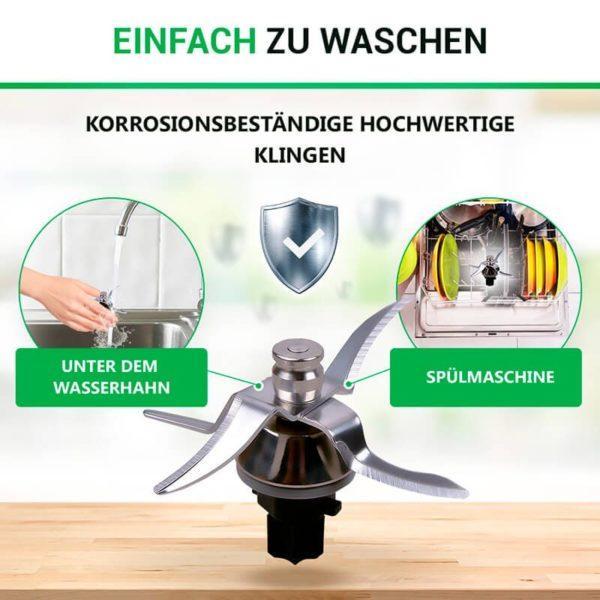 Messer Mixmesser für Vorwerk Thermomix TM31