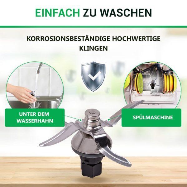 Messer für Thermomix Küchenmaschine TM5