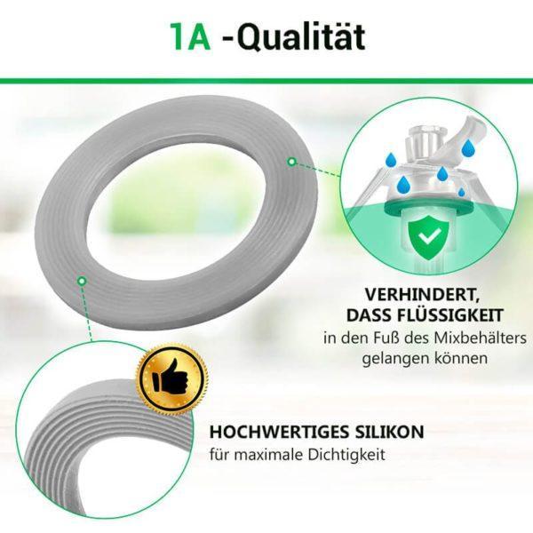 Messerdichtung für Küchenmaschine Thermomix TM21, TM31