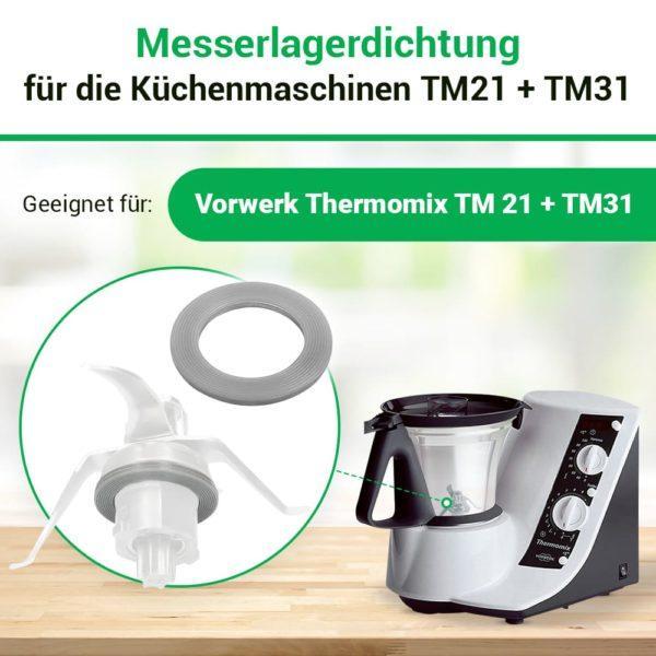 Messerdichtung für Thermomix TM21 TM31