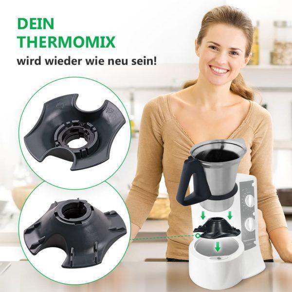 Messereinsatz Fuss für Mixtopf Thermomix TM21