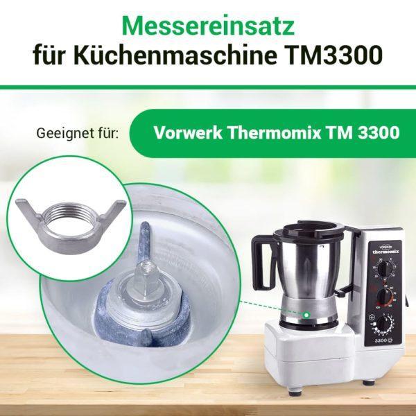Messereinsatz für Küchenmaschine Thermomix TM3300