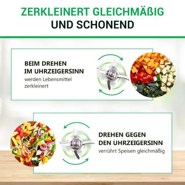 Mixmesser für Küchenmaschine Vorwerk Thermomix TM5
