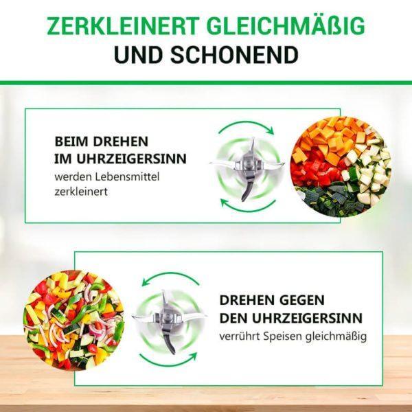 Mixmesser für Vorwerk Themomix Küchenmaschine TM31