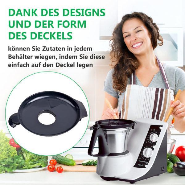 Mixtopfdeckel für Küchenmaschine Thermomix TM21