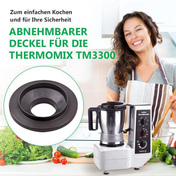 Mixtopfdeckel für Küchenmaschine Thermomix TM3300