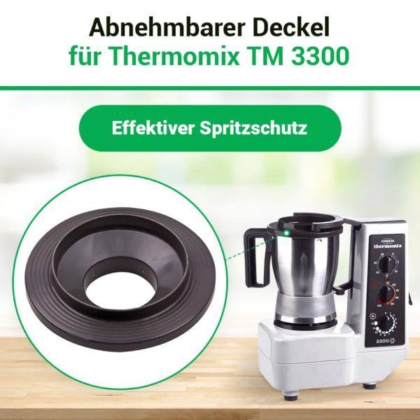 Mixtopfdeckel für Thermomix TM3300