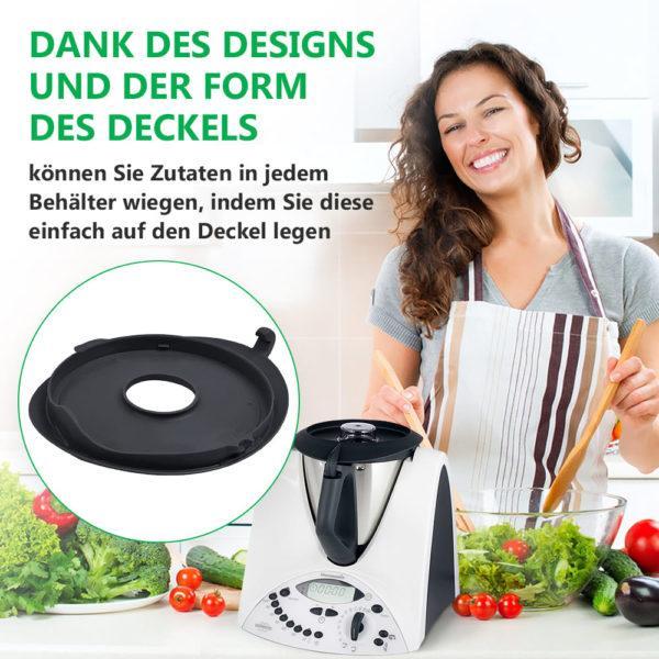 Mixtopfdeckel für Vorwerk Thermomix Küchenmaschine TM31