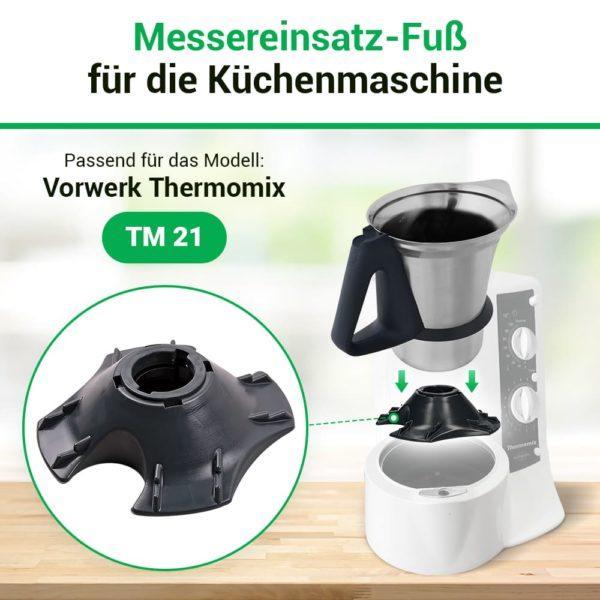 Mixtopffuß für Küchenmaschine Thermomix TM21