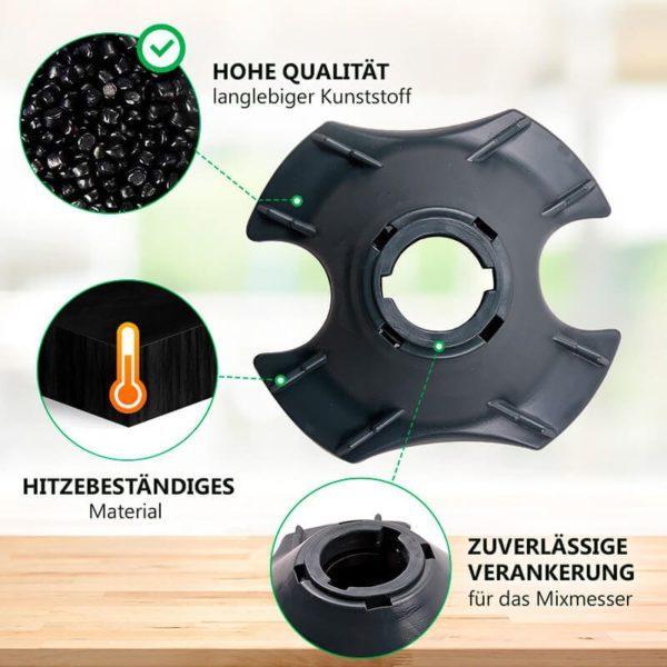 Mixtopffuss für Küchenmaschine Vorwerk Thermomix TM21