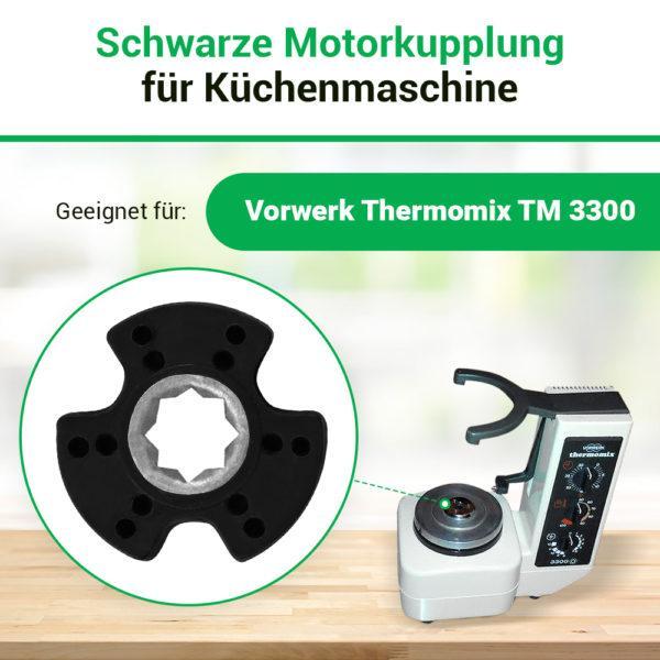 Motor Kupplung für Vorwerk Thermomix TM3300