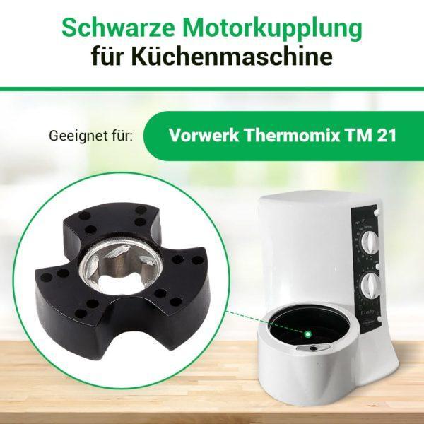 Motorkupplung für Küchenmaschine Thermomix TM21