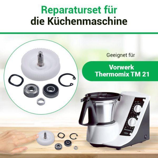 Reparaturset für Küchenmaschine Thermomix TM21