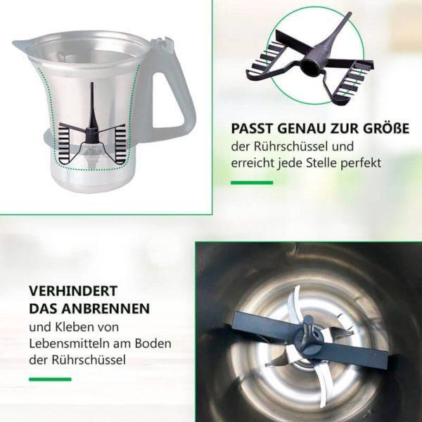 Rühraufsatz für Küchenmaschine Thermomix TM21