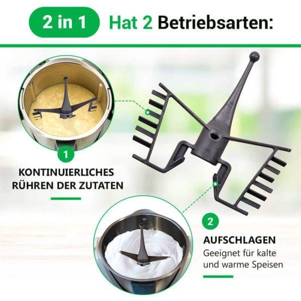 Rühraufsatz für Küchenmaschine Thermomix TM31