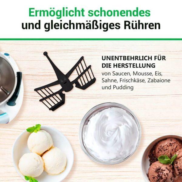 Rühraufsatz für Küchenmaschine Thermomix TM5, TM6