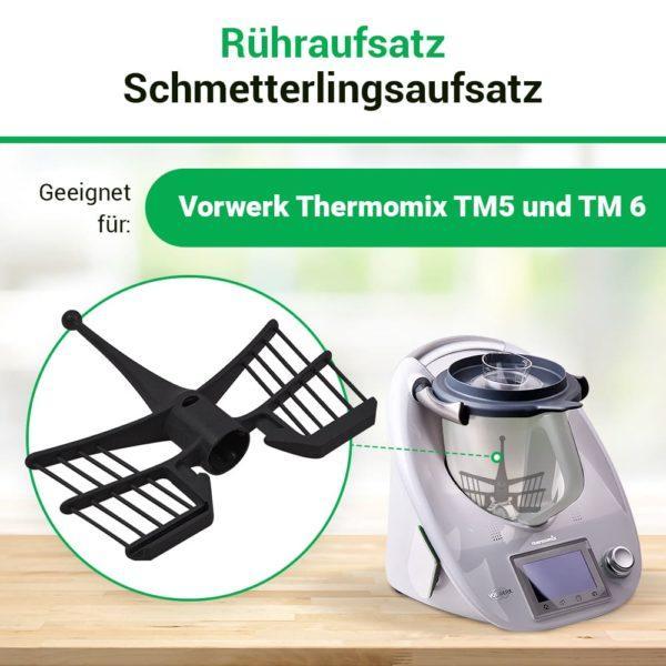 Rühraufsatz für Vorwerk Thermomix TM5, TM6