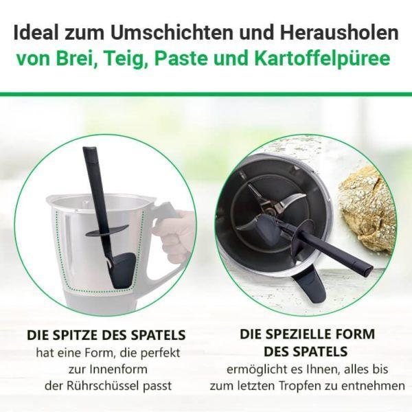 Rührlöffel für Vorwerk Thermomix Küchenmaschine