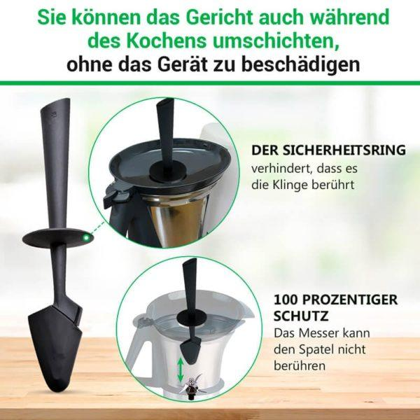 Schaber für Thermomix Küchenmaschine