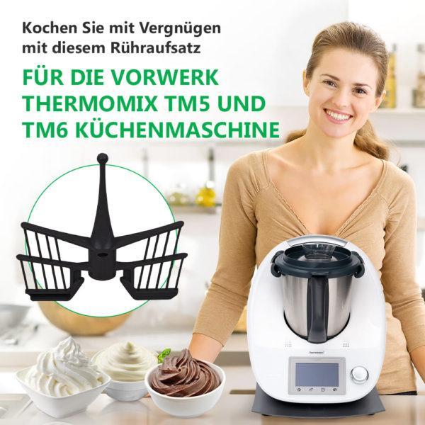 Spatel für Küchenmaschine Vorwerk Thermomix TM5, TM6