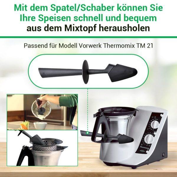 Spatel für Thermomix Küchenmaschine