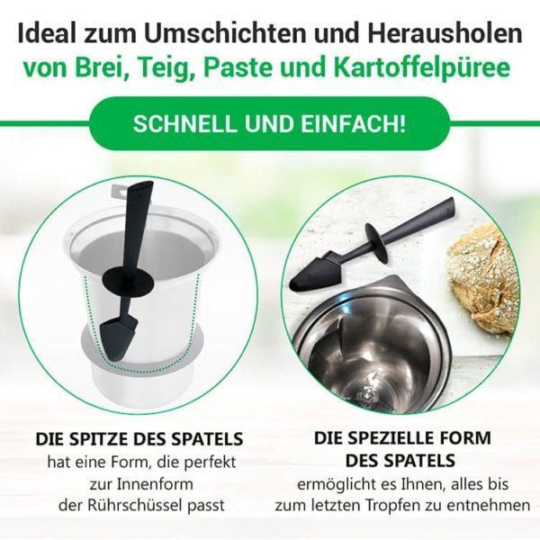 Spatel für Vorwerk Thermomix Küchenmaschine