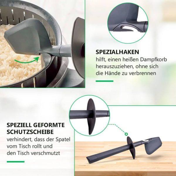 Teigschaber für Küchenmaschine Thermomix TM31