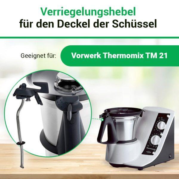 Thermomix TM21 Verriegelung