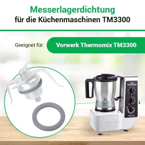 Dichtring für Küchenmaschine Vorwerk Thermomix TM3300