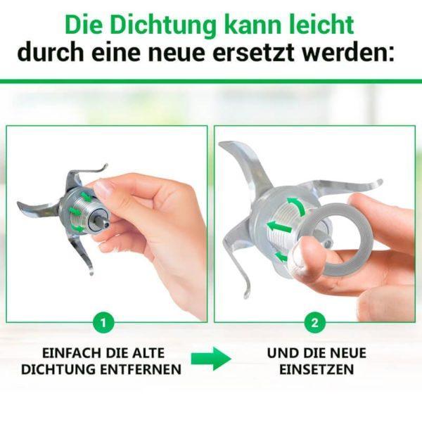 Messereinsatz Dichtring für Thermomix TM3300