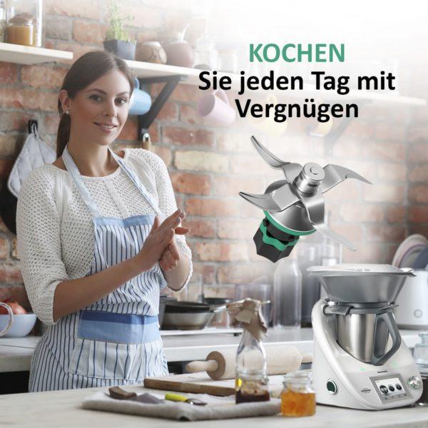 Mixmesser für Thermomix Küchenmaschine TM6